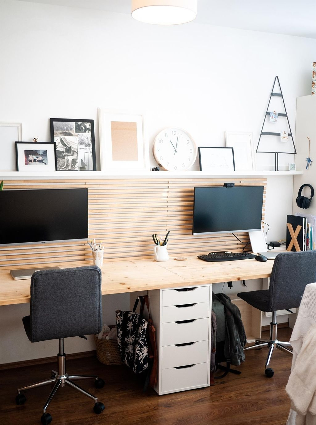 Our wfh office makes Mondays easier  homeoffice   Wohnung ...