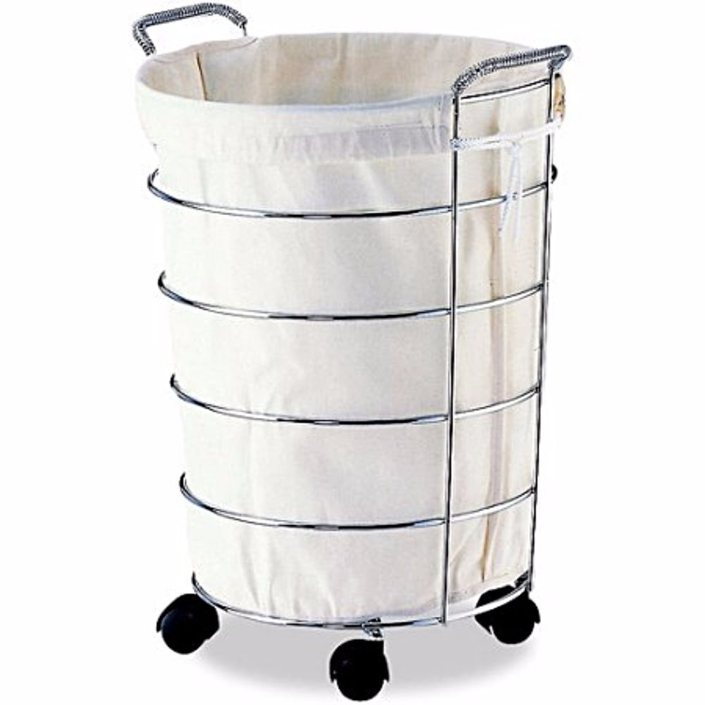 Laundry Basket Bag Storage Hamper Clothes Sorter Washing Foldable