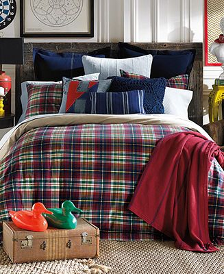 Tommy Hilfiger Middlebury Plaid Collection - Bedding Collections ...