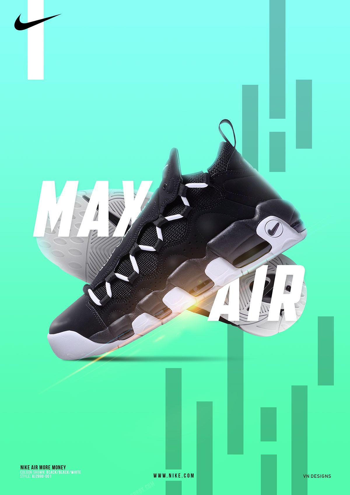 """Nike Unofficial Product Poster Ad On Behance ˂˜ì´í'¤ ̗ì–´ë§¥ìŠ¤ ̊¤í¬ì¸ Ê´'ê³ ̂¬ì§"""""""