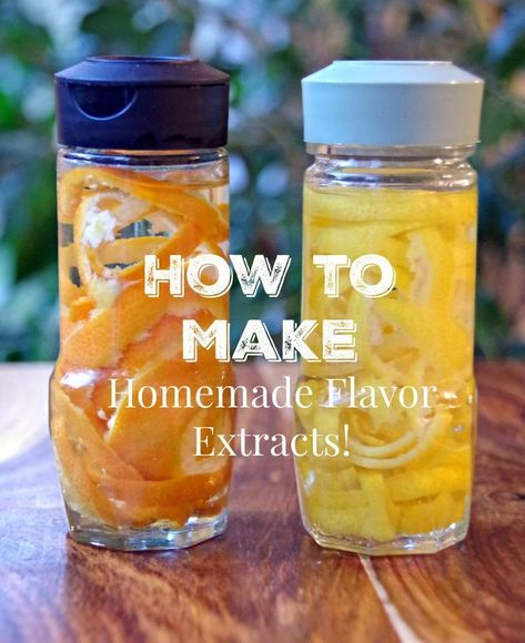 How to Make Homemade Extracts for Baking