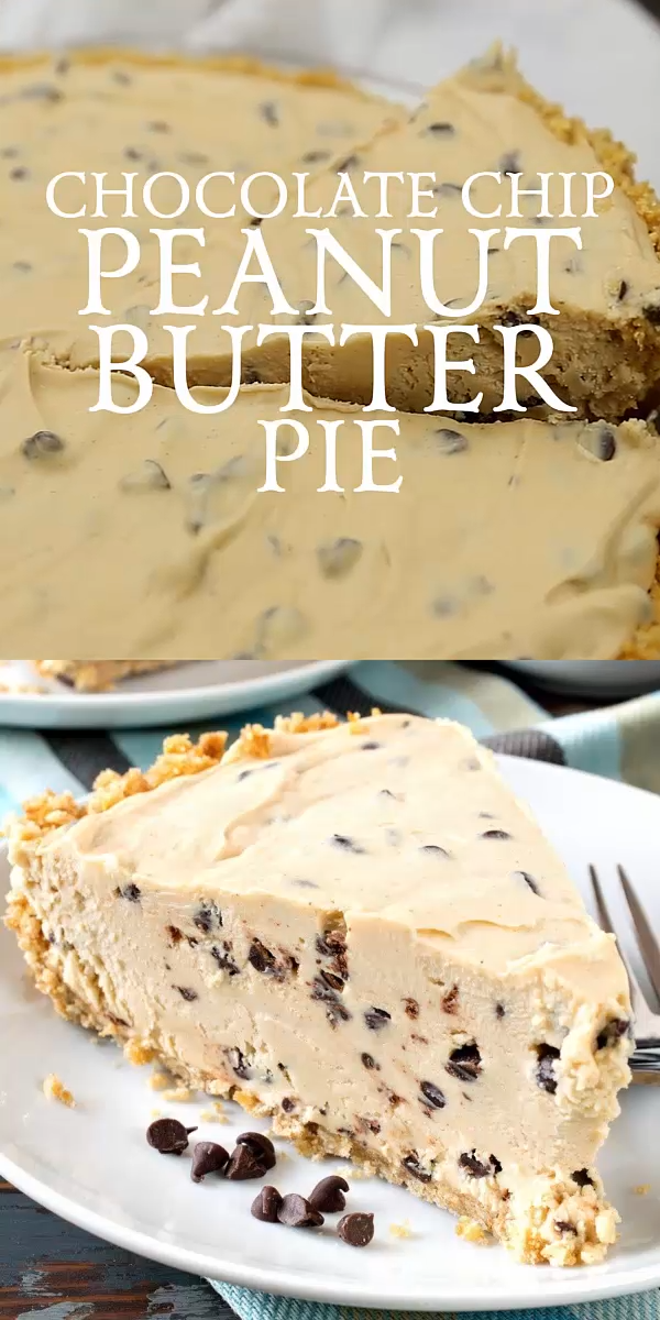 Chocolate Chip Peanut Butter Pie