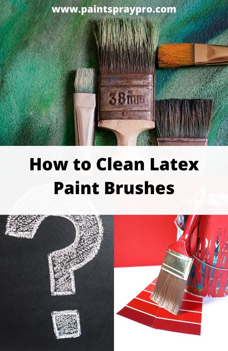 How To Clean Paint Brushes And Rollers In 2020 With Images Cleaning Paint Brushes Paint Brushes And Rollers Cleaning Paint Rollers
