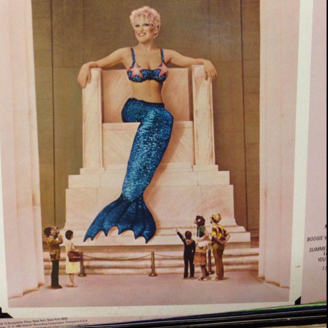 Bette Midler Mermaid Album Cover