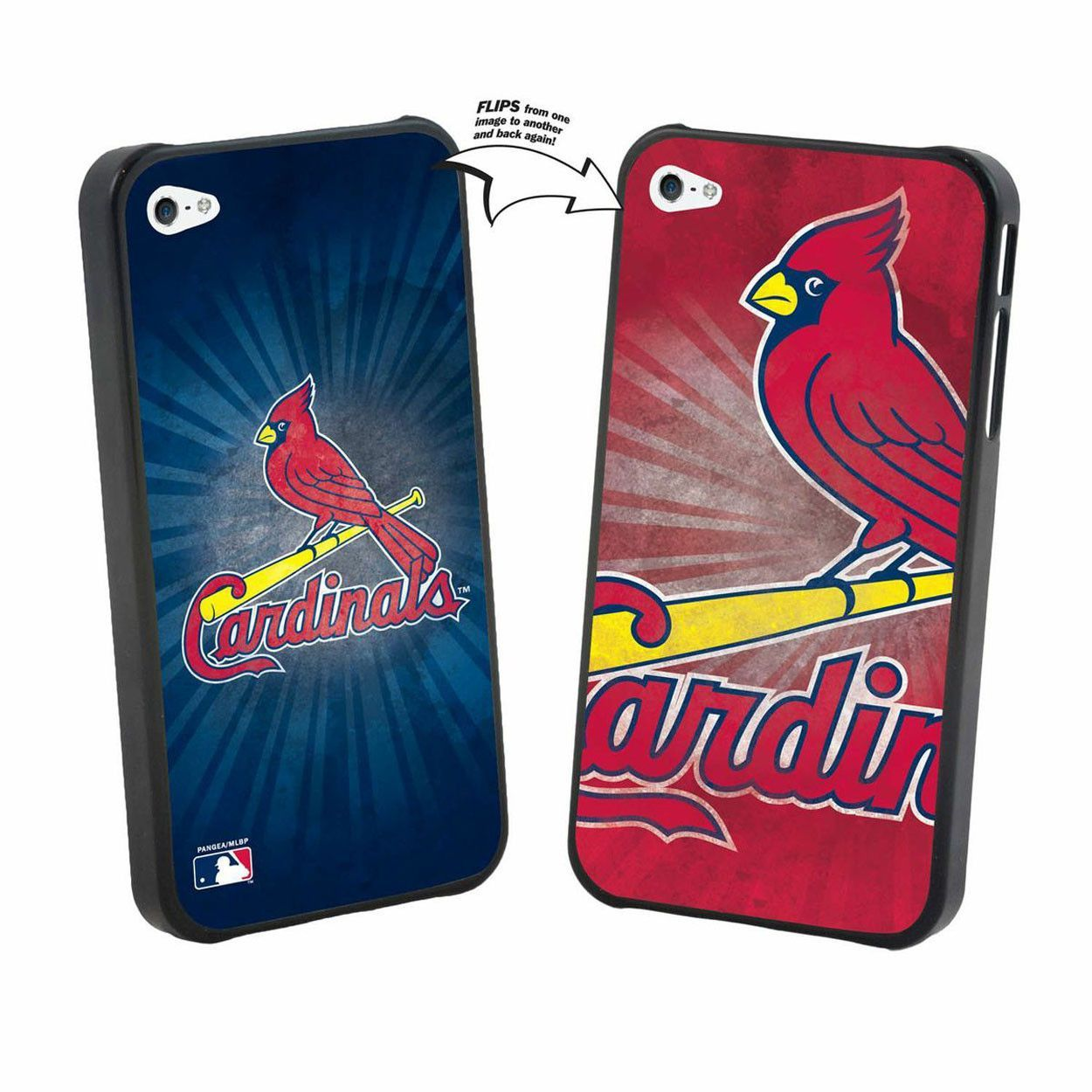 Iphone 5 MLB St. Louis Cardinals Large Logo Lenticular Case