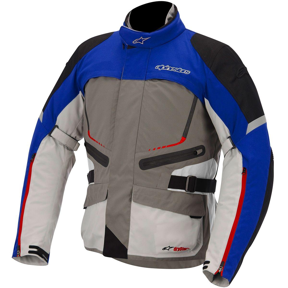 Jaqueta Moto Trail Alpinestars Valparaiso Impermeável Drystar Azul - Masada  Moto Jaqueta Motociclista 16681f74884