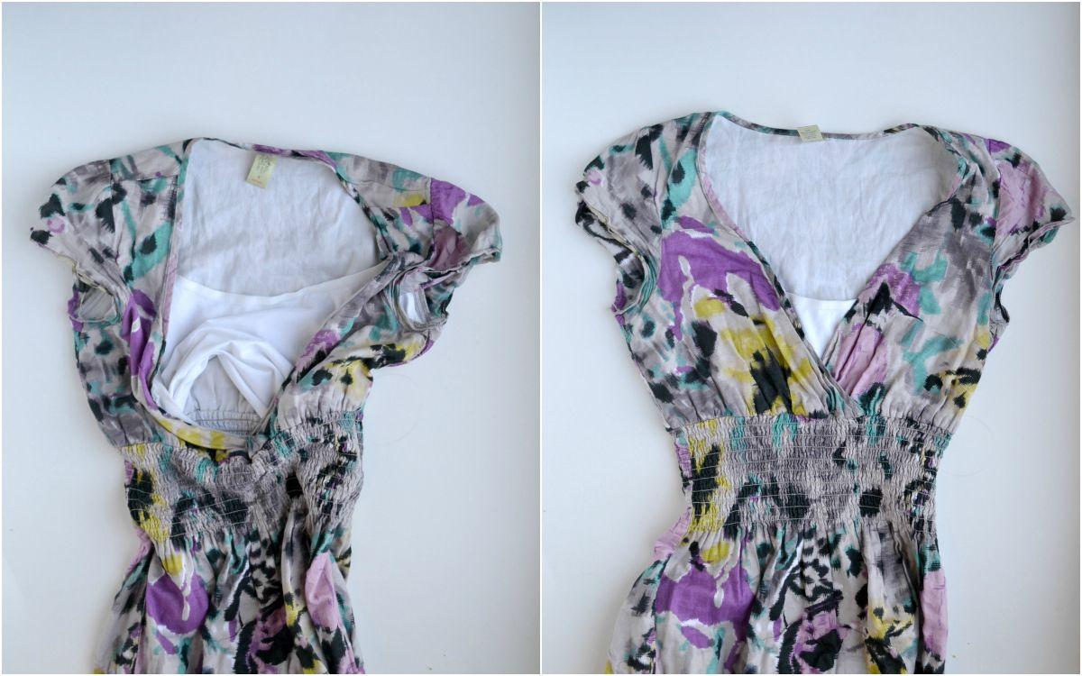 62e6798aedb41 Quick and Easy Nursing-Dress Hack // DIYmaternity.com   DIY clothing ...