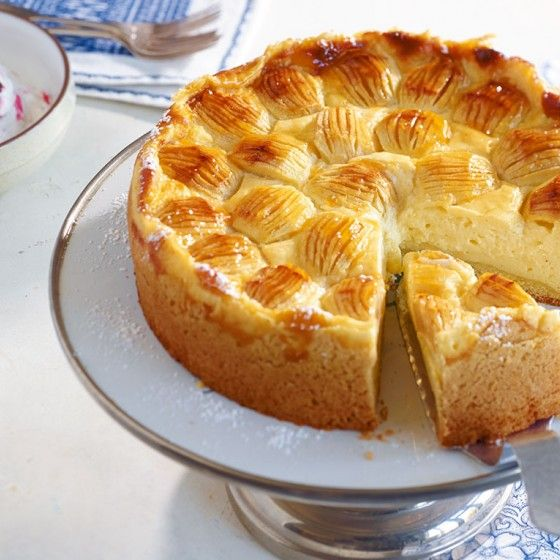 Apfel-Schmand-Kuchen #essentrinken
