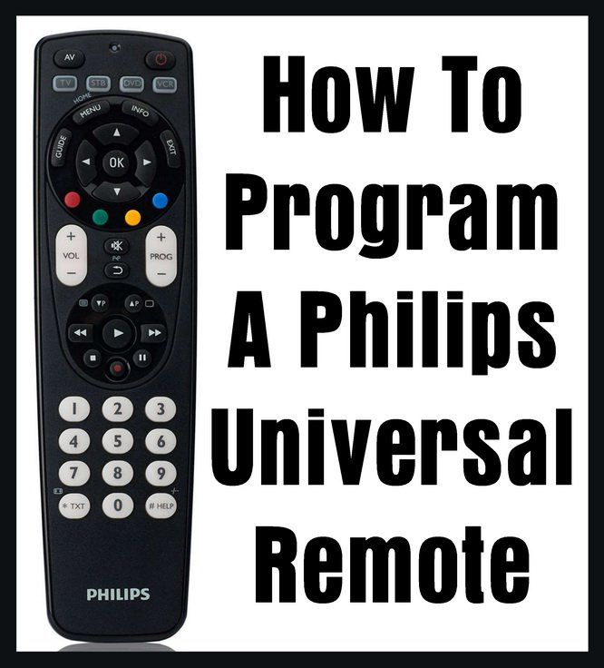 Philips Universal Remote Manual Cl043