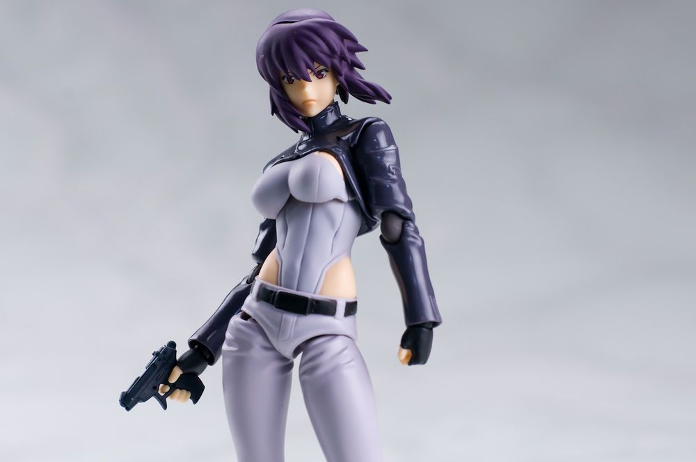 figma Ghost in the Shell STAND ALONE COMPLEX Kusanagi element S.A.C.ver.