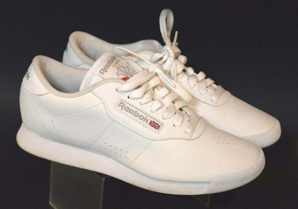 4b67166adf3 Reebok Classic Women s Size 7.5 38 Princess White Sneakers Athletic Shoes  1Y3501  Reebok  athletic