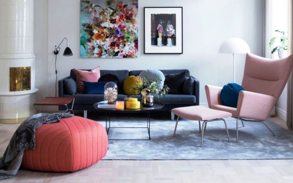 How To Make Cozy Living Room With Colorful Pastel Color Style