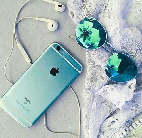 Ombre green iPhone case