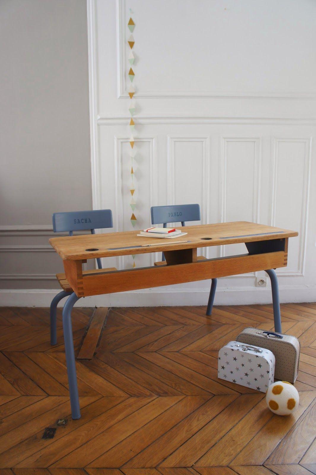 atelier petit toit pupitre vintage revisit sur commande sept 14 workspace pinterest. Black Bedroom Furniture Sets. Home Design Ideas