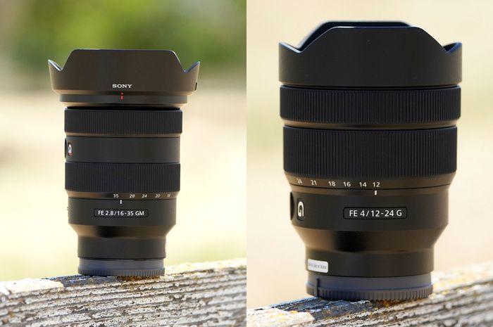 First Look Sony Fe 16 35mm F 2 8 G Master And Fe 12 24mm F 4 G Wide Angle Lenses Wide Angle Wide Angle Lens Sony