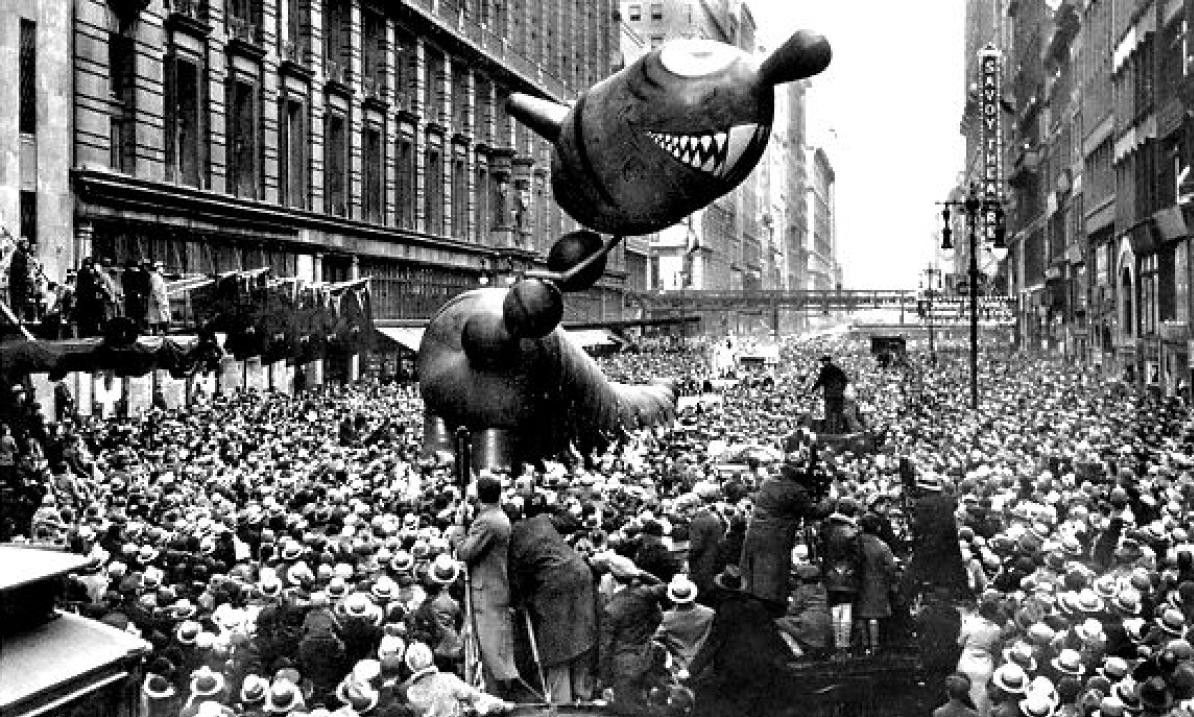 Images Of Old Macy S Thanksgiving Parade 13 Creepy Vintage Floats From The Mac Macy S Thanksgiving Day Parade Thanksgiving Parade Macys Thanksgiving Parade
