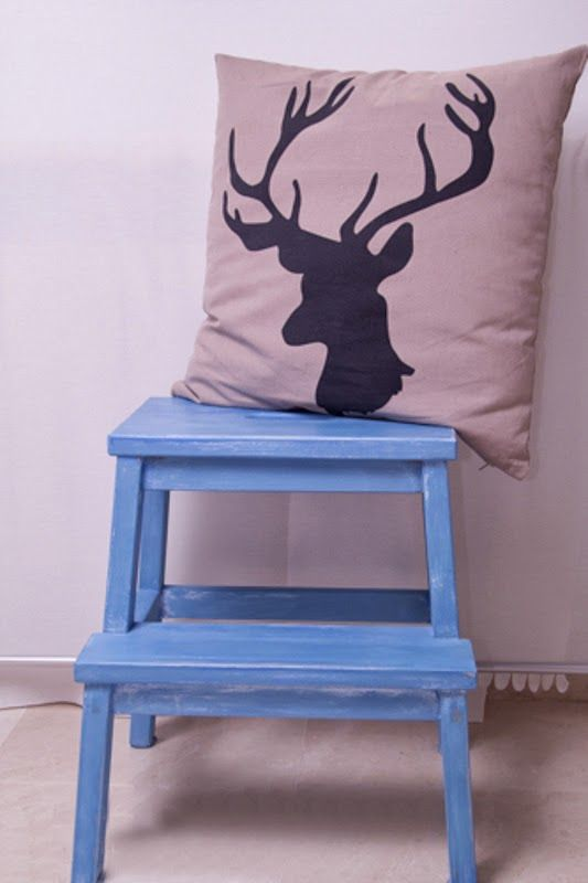 X4duros.com   cómo pintar una escalera de ikea con chalk paint ...