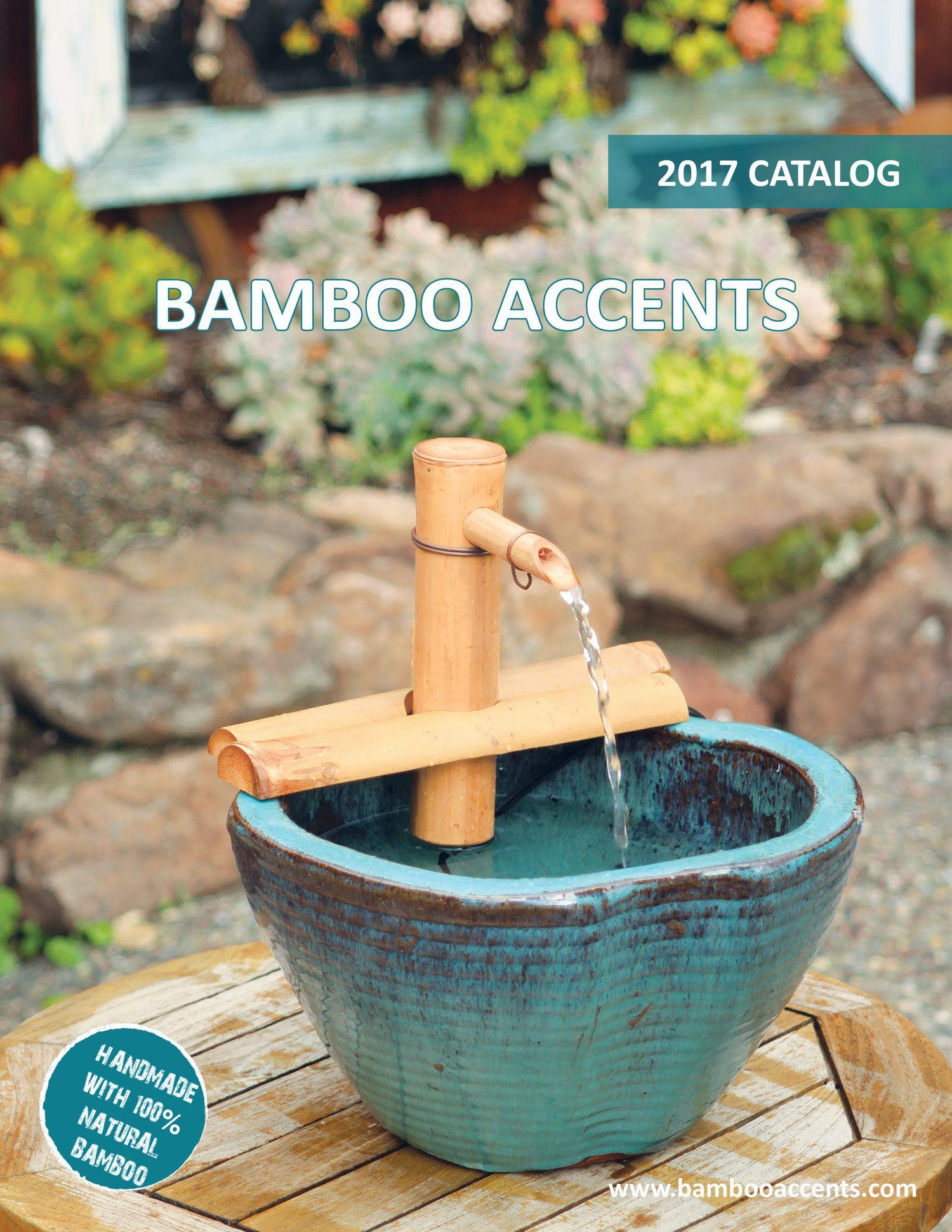 Zen Diy Bamboo Fountain Water Flow Soothing Tropical Tiki
