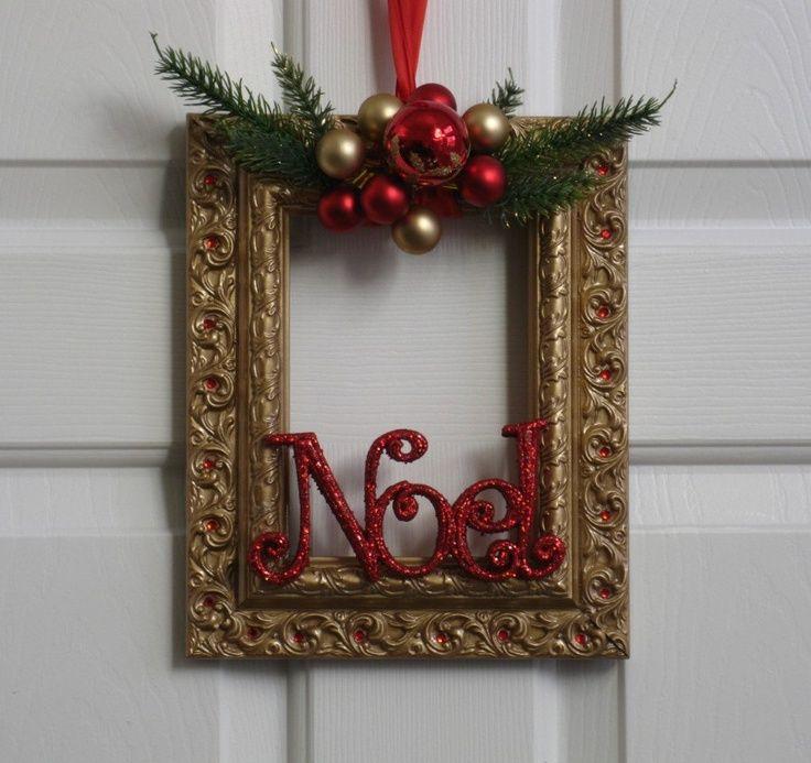 https://www.google.com/search?q=unique picture frame wreath | home ...