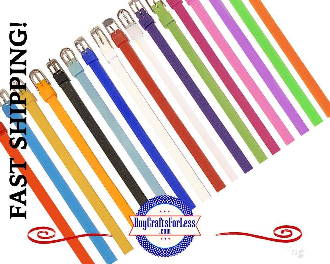 Sillicone Bracelets 17 Colors
