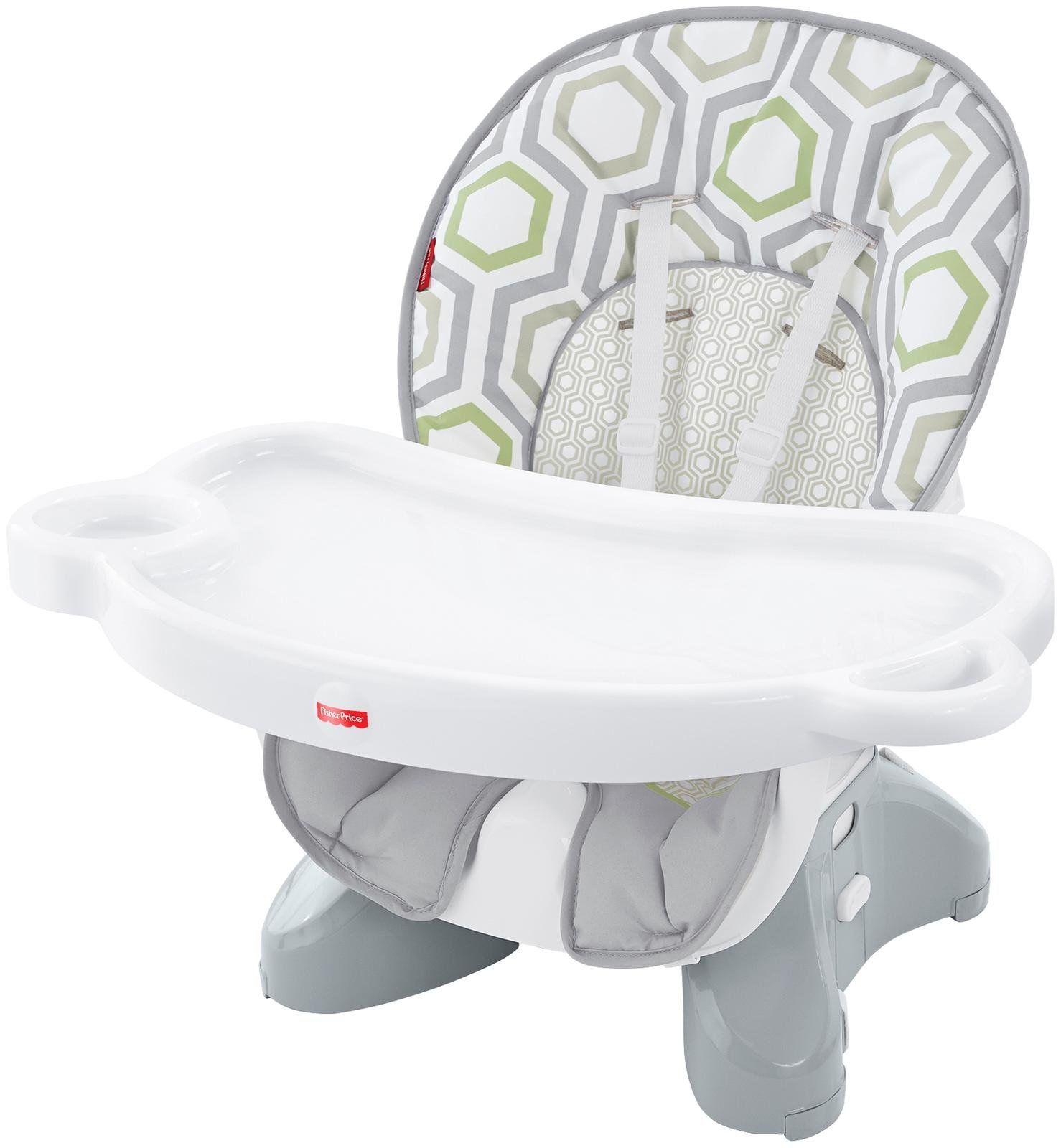 Fisher price space saver high chair geo meadow high