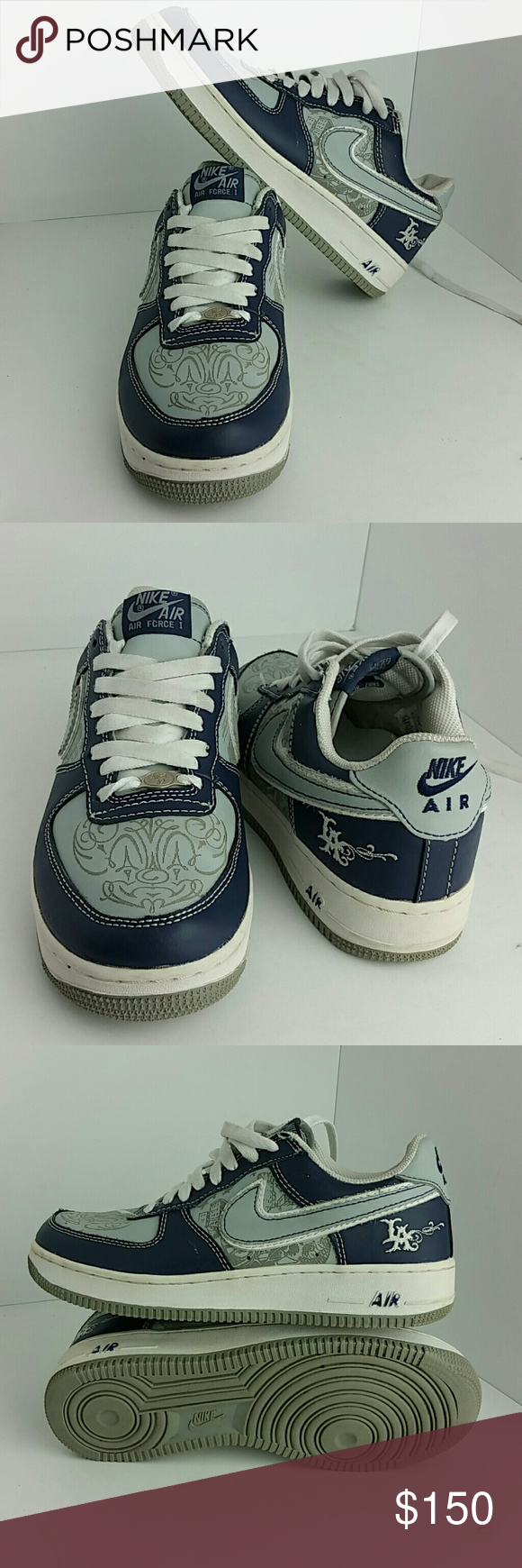 NIKE AIR FORCE 1 MR. CARTOON MEN SHOES IN GOOD CONDITION