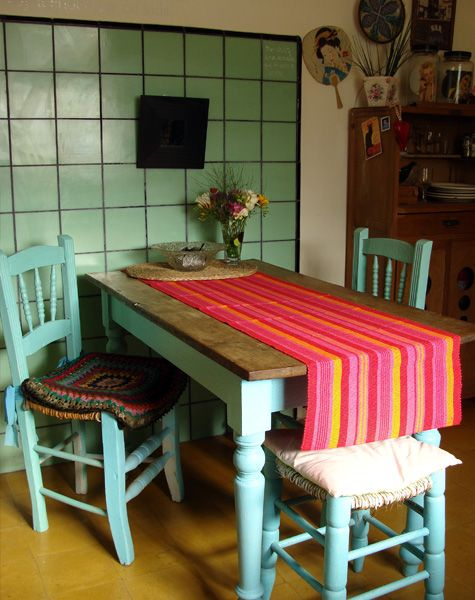 Interiores 48 herencia pinceles y dulce de leche - Muebles herencia ...