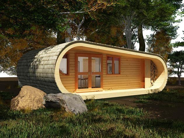 chalet-kit-contemporain | Places | Pinterest | Cabin, Architects ...
