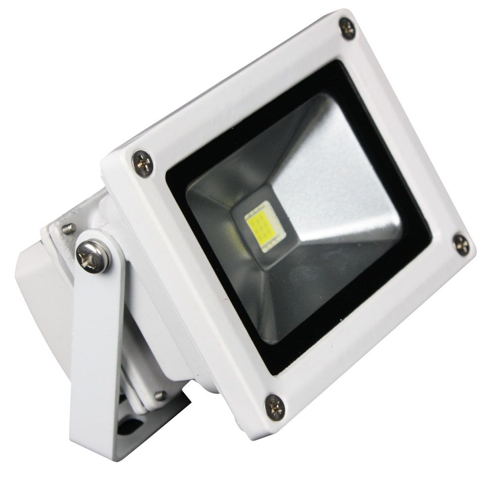 Lunasea Outdoor Led Flood Light 12v 10w 900 Lumens Cool White With Images Led Flood Led Flood Lights Flood Lights