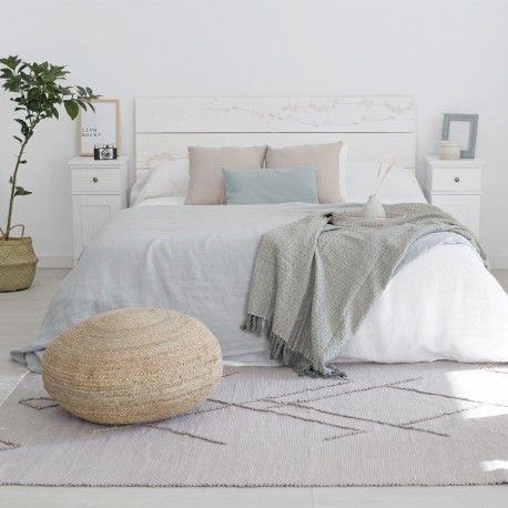 Tripode mesita cabecero camas y natural - Kenay home cabeceros ...