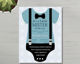 Unique Boy Baby Shower Invitations Best Custom Invitation