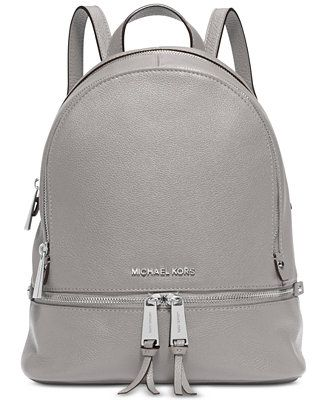 30c2052d8f1d Rhea Zip Small Pebble Leather Backpack