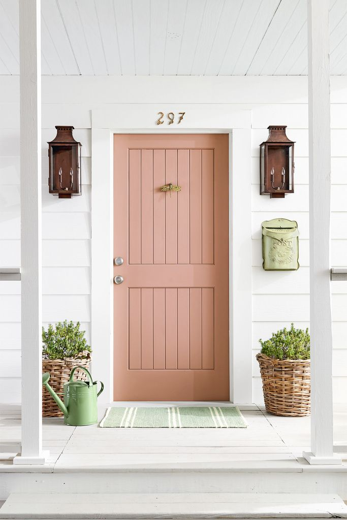 Elegant 5 Easy Ways To Give Your Front Door A Colorful Makeover