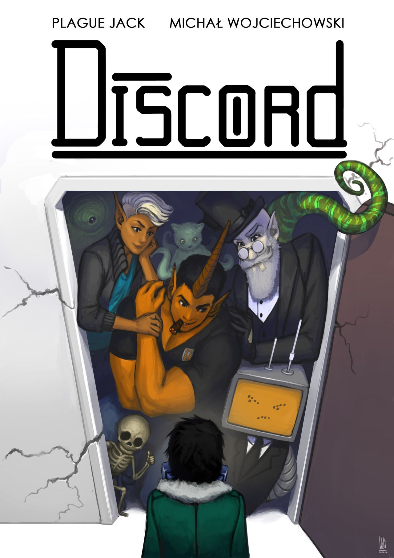 Discord Comic books, Dc comics