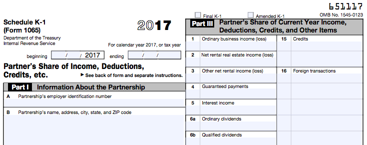 Schedule K 1 Tax Form What It Is And What You Need To Know Tax