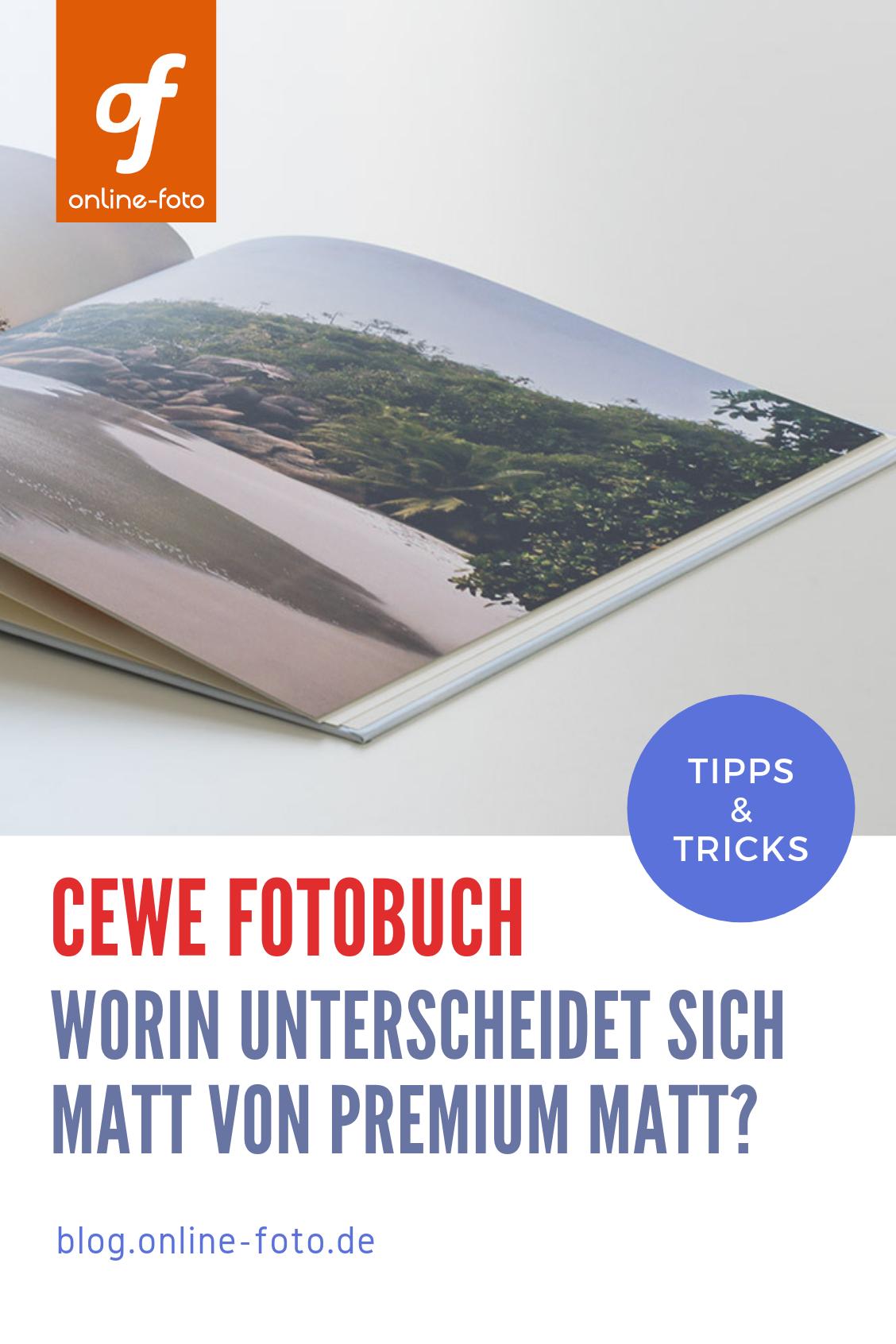 CEWE FOTOBUCH – Matt oder Premium-Matt?   Fotobuch, Fotos
