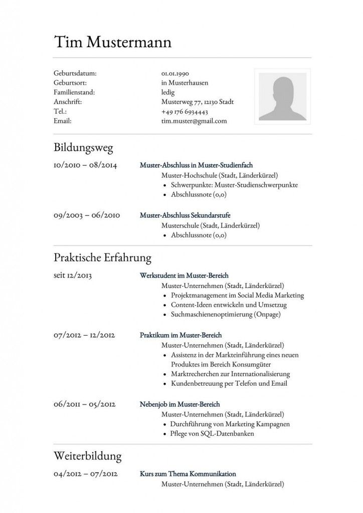 muster psychologie