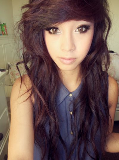 Magnificent 1000 Images About Hair Nails On Pinterest Scene Hair Bangs Short Hairstyles For Black Women Fulllsitofus