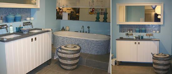 Ariadne at Home Blauw - Wit Kleur & Interieur Woonbeurs Foto\'s ...