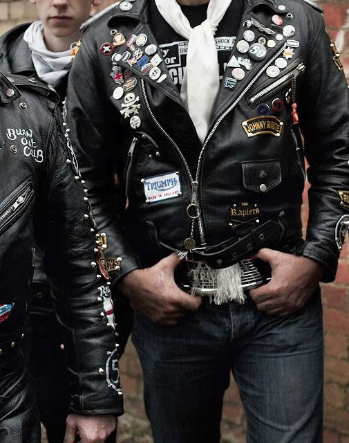 Rockers Leather Motorcycle Jackets Return Of The Cafe Racers Biker Outfit Biker Jacket Style Leather Motorcycle Jacket