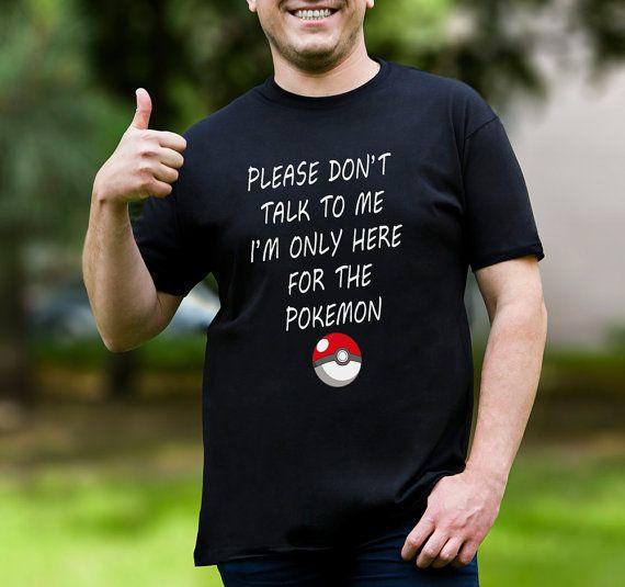 Pokemon Tshirt For Pokemon Pokemon Go T Shirt Pokemon от 2PApparel