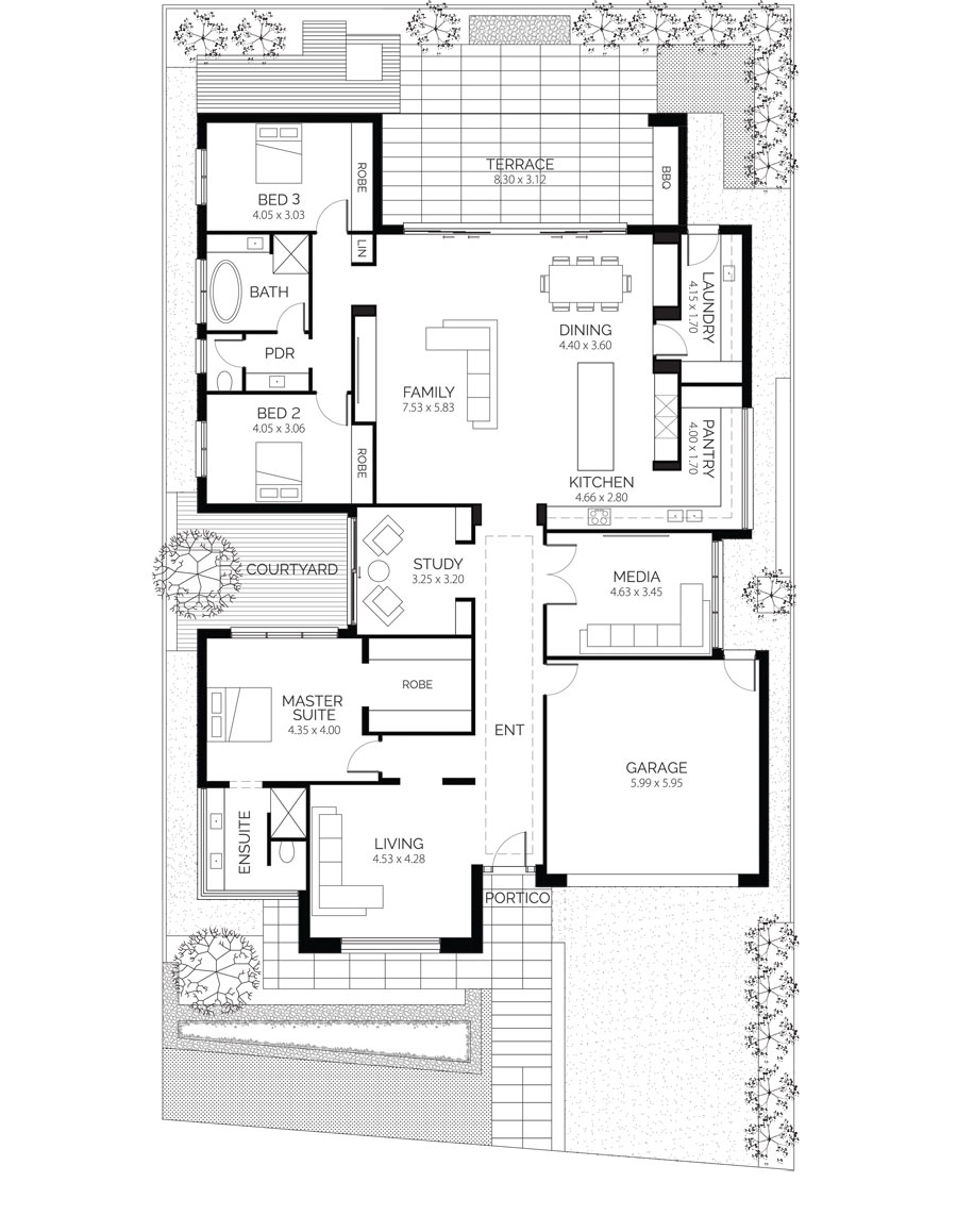 California House Lares Homes Bungalow Floor Plans House Plans Australia Floor Plans