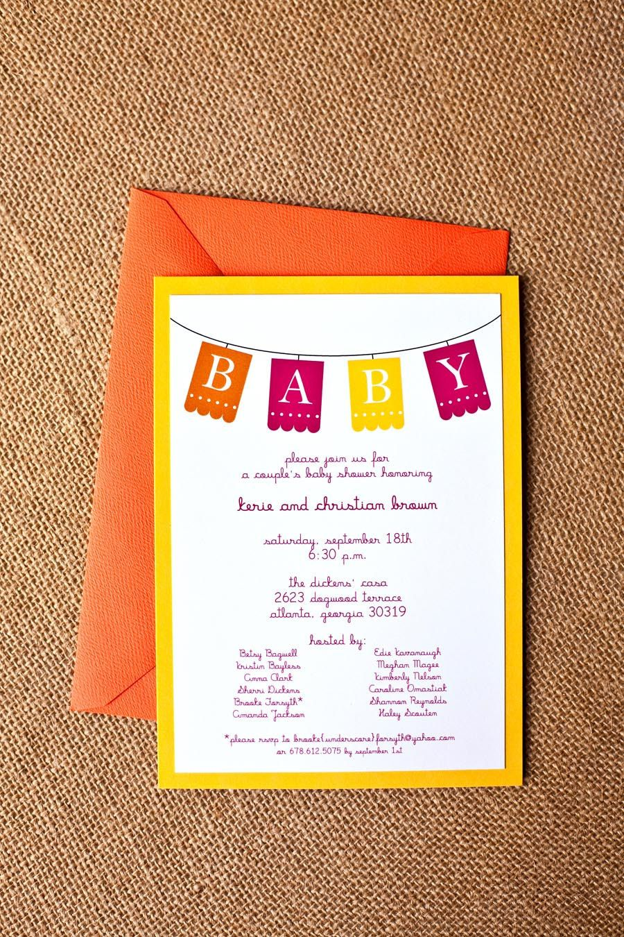 baby shower invitation - | Kids and babies Ideas | Pinterest ...