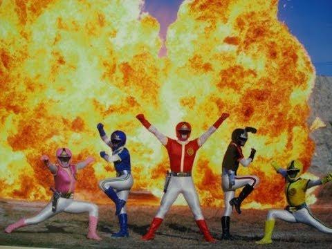 3) 【ヒーロー】昭和のド派手な爆破‼ よく見ると関係のない所も爆破 ...