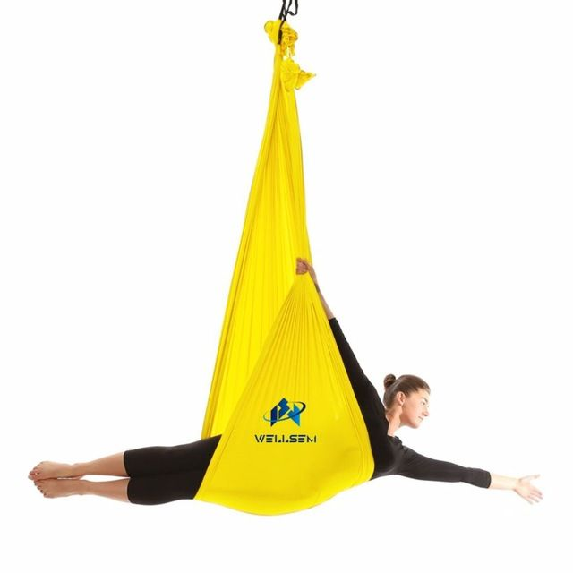 Medium image of price drop  37 80 buy top quality yoga flying swing anti gravity yoga hammock fabric
