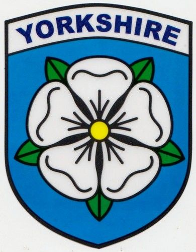 Yorkshire County Flag Yorkshire Rose County Flags Rose Stencil