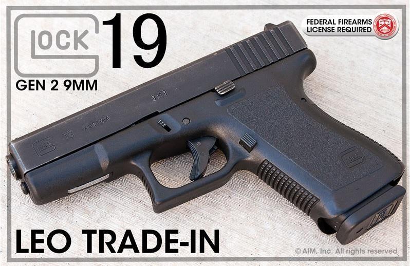 Glock 19 9mm Gen 2 Law Enforcement Trade In - $359.95 Find our speedloader now!  www.raeind.com  or  http://www.amazon.com/shops/raeind
