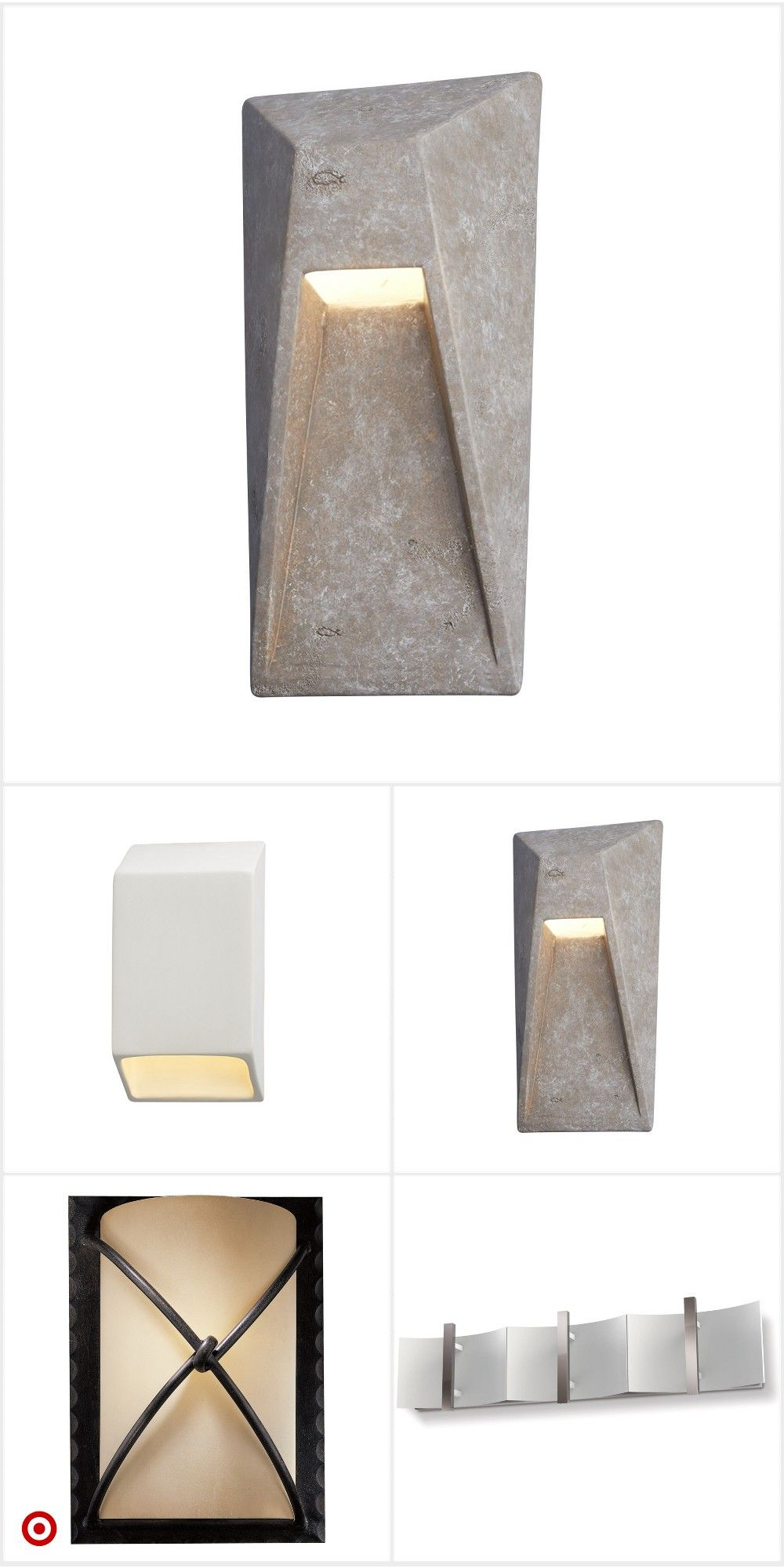 Shop Target For Wall Lights You Will Love At Great Low Prices Free Shipping On Orders Of 35 Or Free Same Day Pick Up Exterior Lighting Lights Concrete Lamp