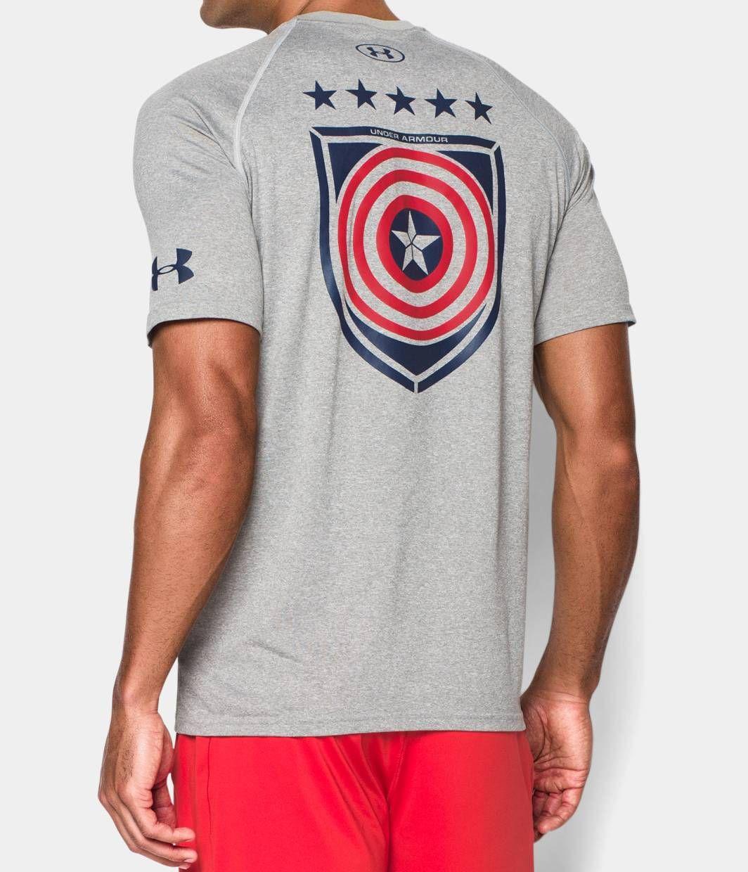 468b01ff Men's Under Armour® Alter Ego Avengers Captain America T-Shirt   Under  Armour US