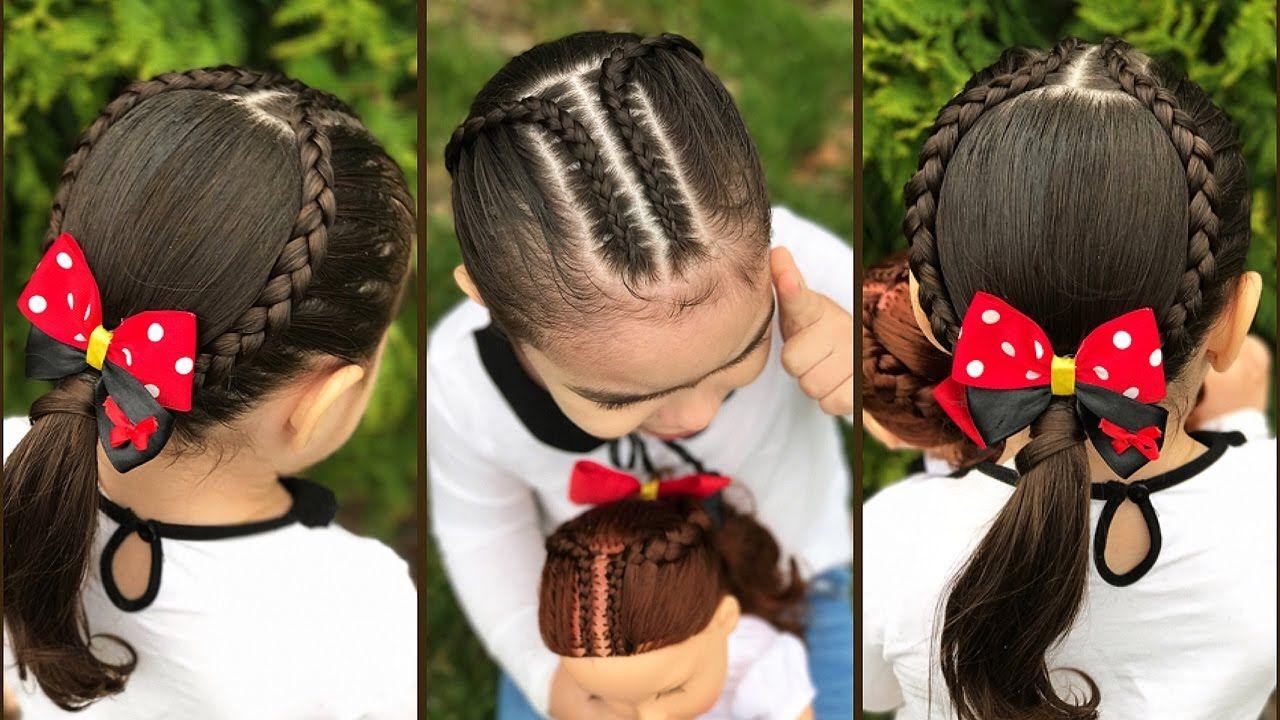 Peinados Faciles Para Ninas Con Trenzas Peinados Faciles Y Rapido